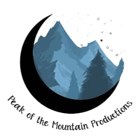 Peak Of The Mountain Productions Logo Large Transparent Background